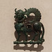 So-called Luristan bronze cheekpiece from a horse bit, in the form of a winged quadruped