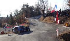 Pontus Tidemand at Basse Correo Stage on Monte-Carlo Rally (25) (5) - Photo of Lettret