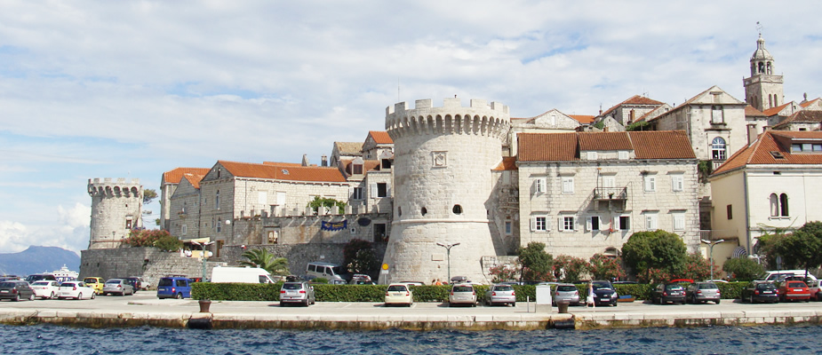 Korčula-stad