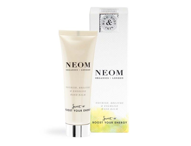 Lookfantastic x NEOM Organics Limited Edition Beauty Box - наполнение nourish-breathe-and-energise-hand-balm-and-box