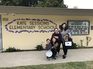 December 05 '18 CISDSU Launches Six Arts Program at Kate Sessions Elementary School