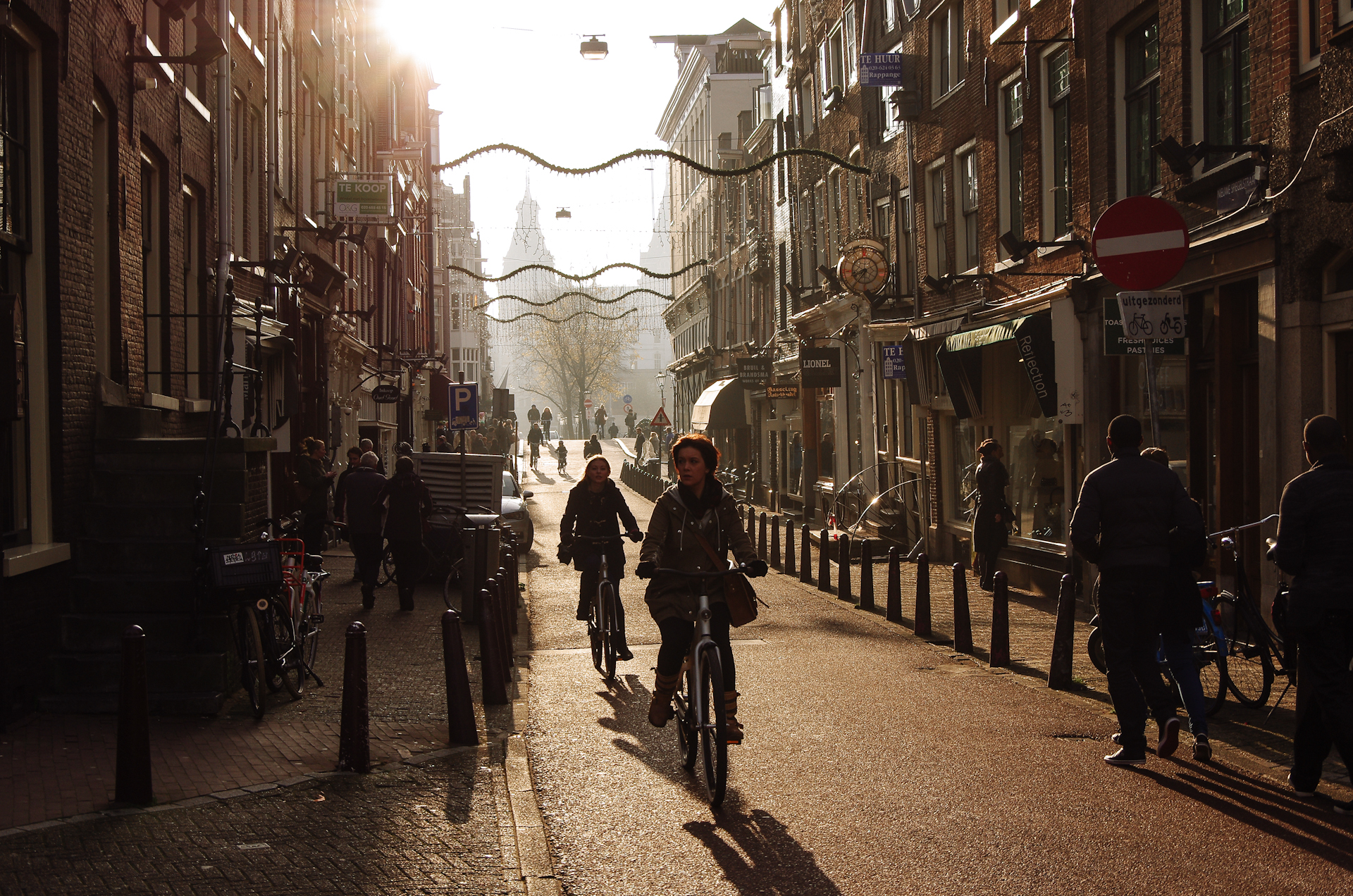 Amsterdam Winter Light