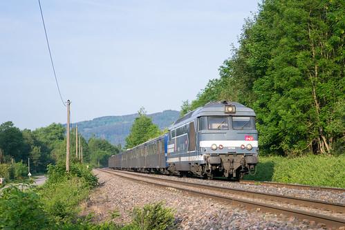 BB 67400 im Elsass