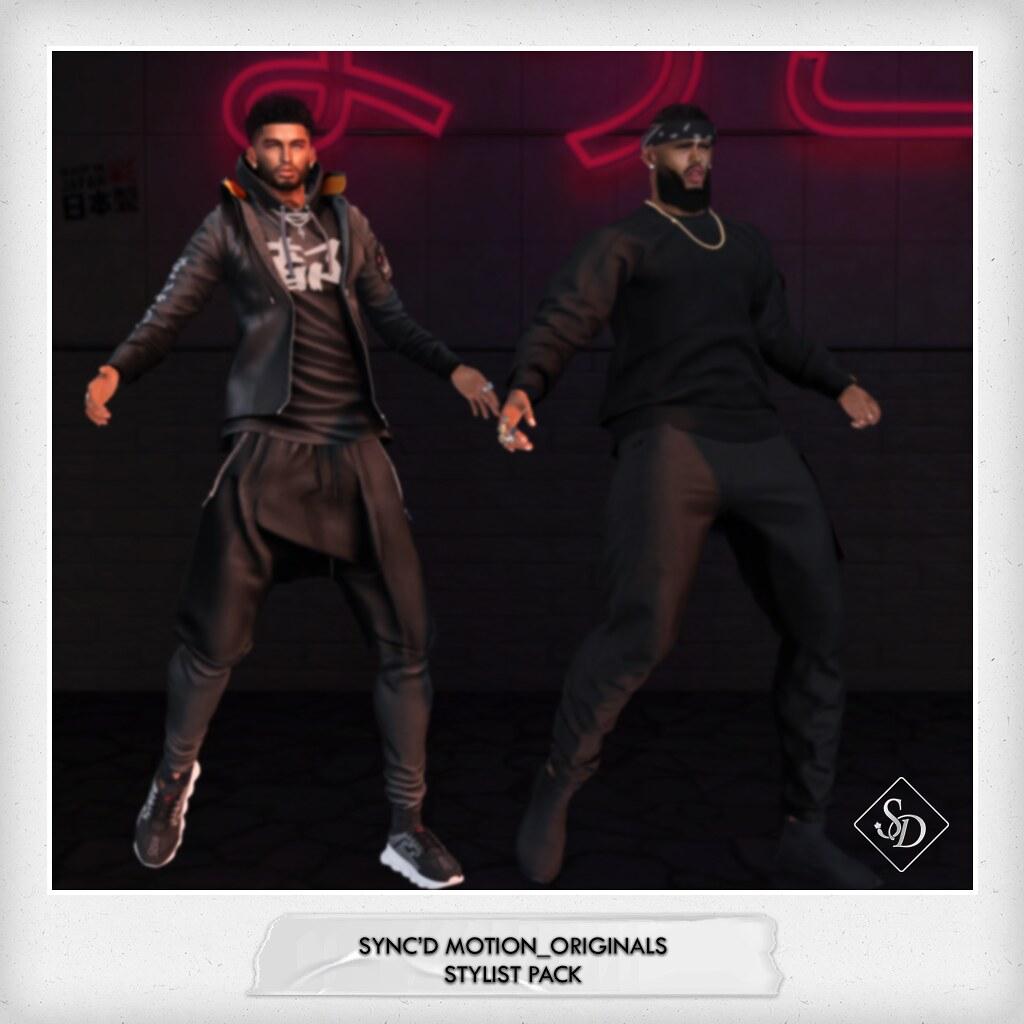 Sync'D Motion__Originals - Stylist Pack