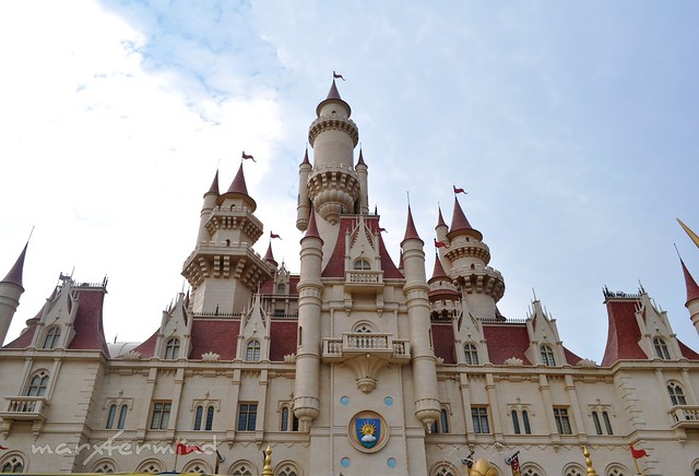 Far Far Away Castle Universal Studios Singapore