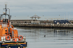 DUN LAOGHAIRE LIFEBOAT [PHOTOGRAPHED CHRISTMAS WEEK 2018]-146525