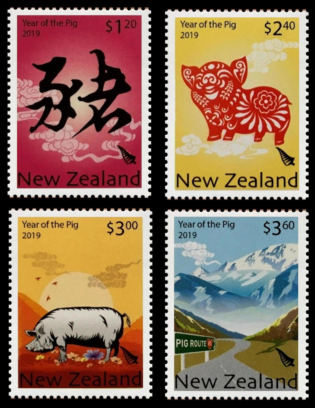 New Zealand - Year of the Pig (January 20, 2019)