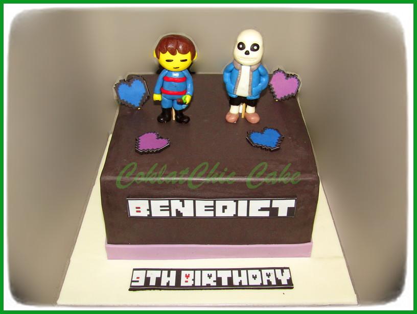 Cake undertale BENEDICT 20 cm