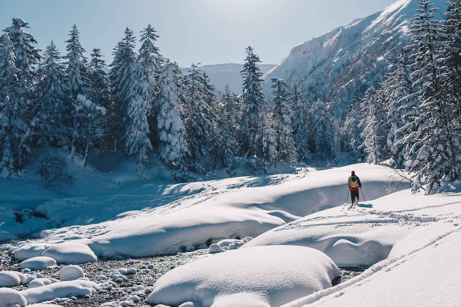 Joen vartta pitkin Mt. Furanolle