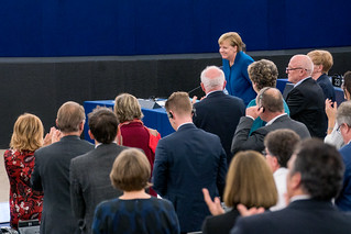 Merkel: Nationalism and egoism must never have a chance again in Europe