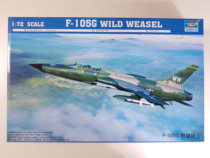 Trumpeter 1/72 F-105G Wild Weasel 31210443027_51bd329f52_c