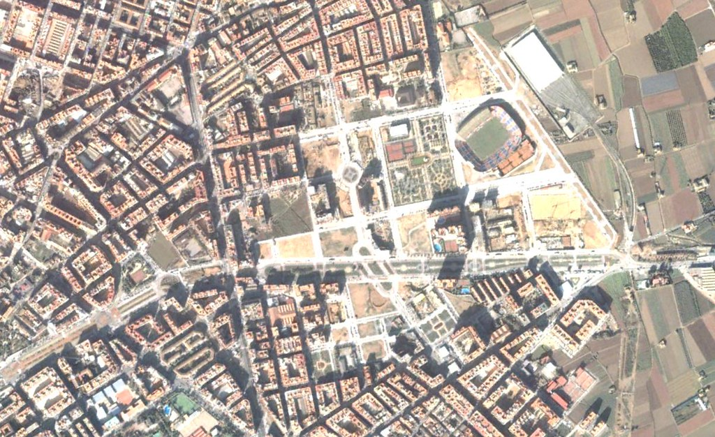 rascanya, valencia, rascayú, antes, urbanismo, planeamiento, urbano, desastre, urbanístico, construcción