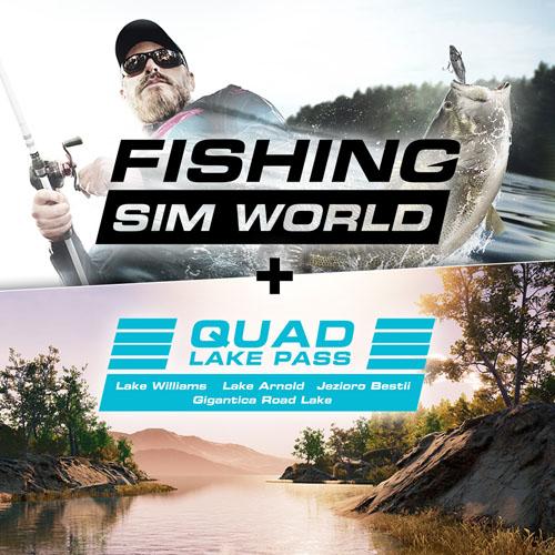 Fishing Sim World + Quad Lake Pass