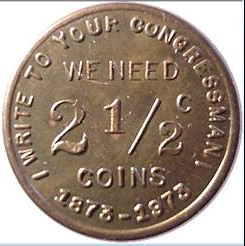 Harry X Boosel We need 2.5 cent coins token
