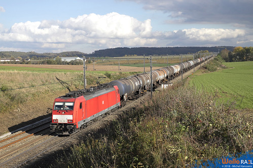 186 338 DB Cargo . E 47068 . Berneau . 02.11.18.