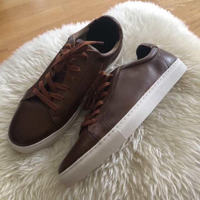 Banana Republic Nicklas Leather Sneakers