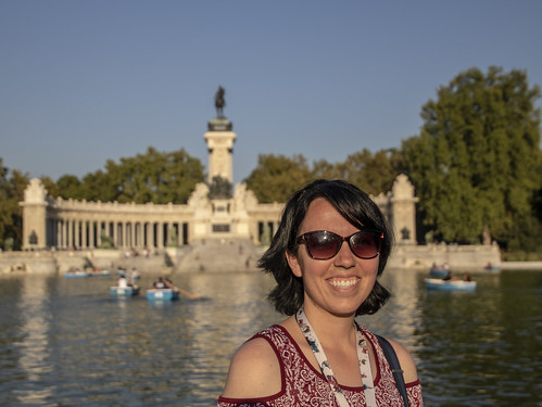 Along the Retiro