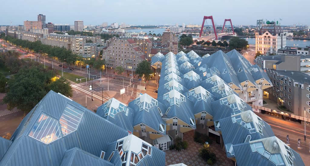 Rotterdam architecture, architecture in The Netherlands: Cubic Houses | Your Dutch Guide