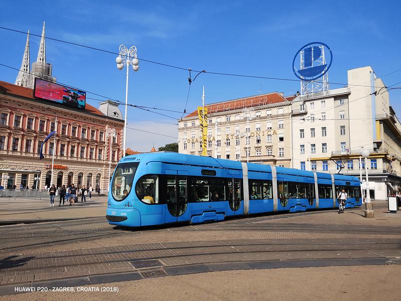 2018 Croatia Zagreb Ban Jelacic Square 2