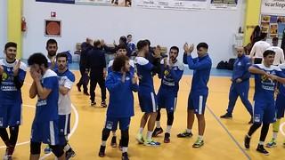I festeggiamenti per la vittoria a Ruffano