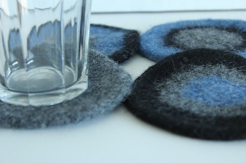 Felted Coasters - Christa Belle