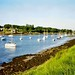 The River Crouch from South Woodham Ferrers, 29th May 1994