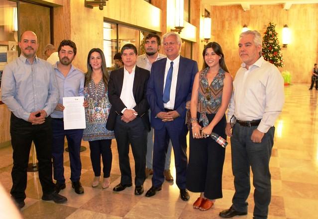 ANEF acompaña a Bancada PS a CGR (10-12-2018)