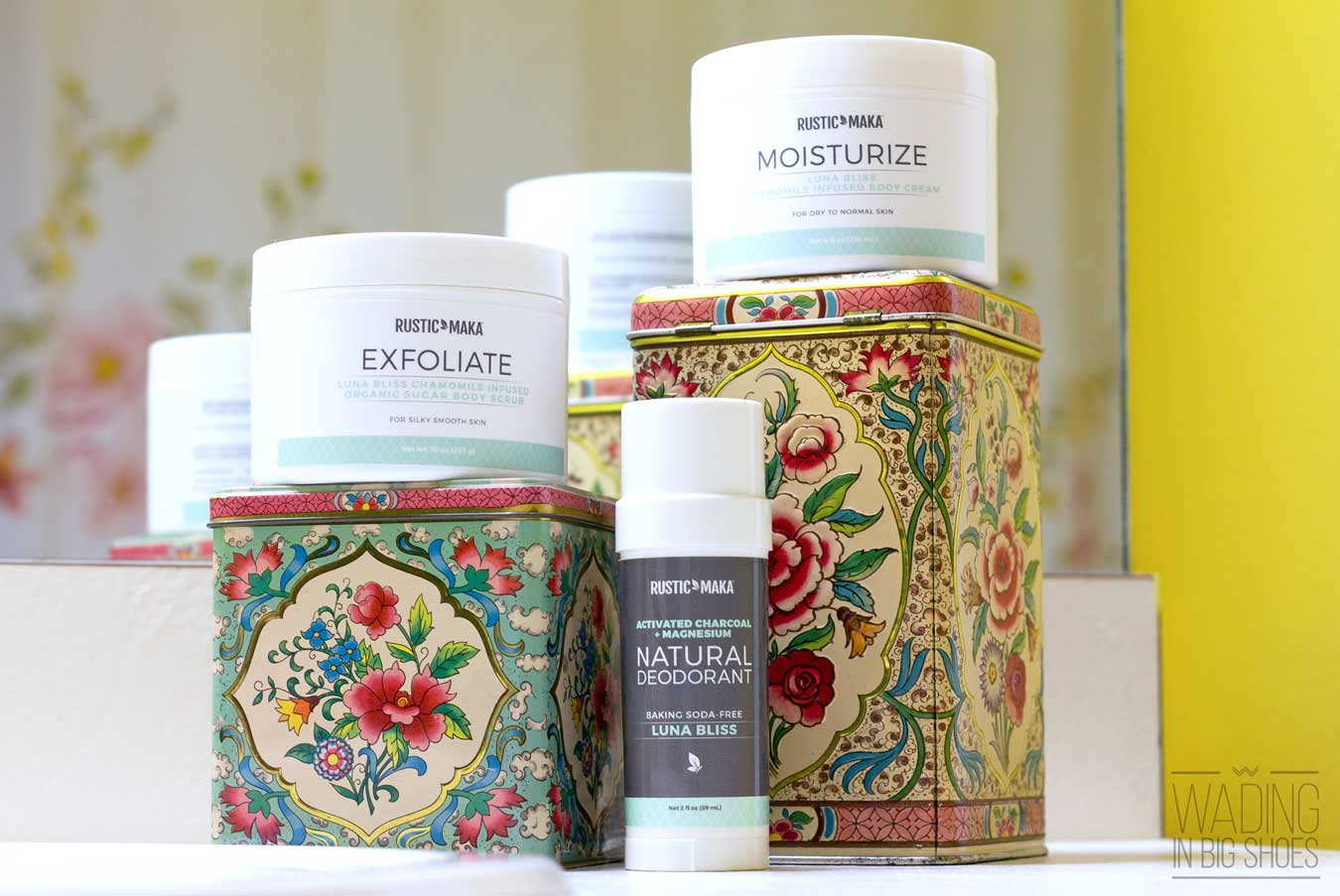 This Michigan Skin Care Line Makes Winter Skin Feel (And Smell) Like Springtime | via Wading in Big Shoes