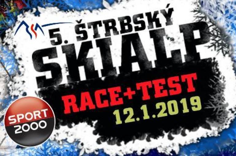 5. Štrbský skialp race + test 2019