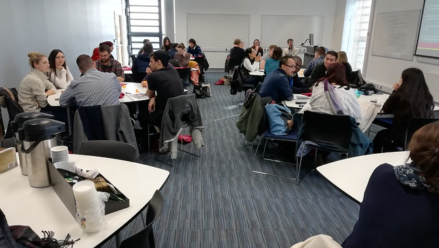 Image of participants at the Starting Your Doctorate Induction session