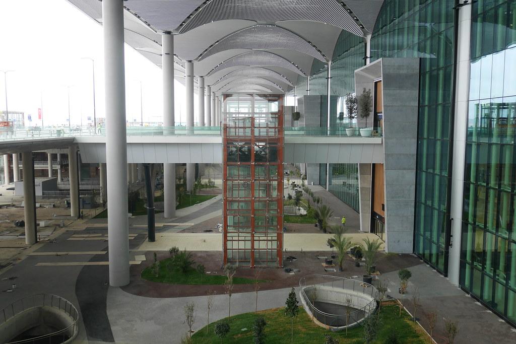 伊斯坦堡新机场-航厦入口