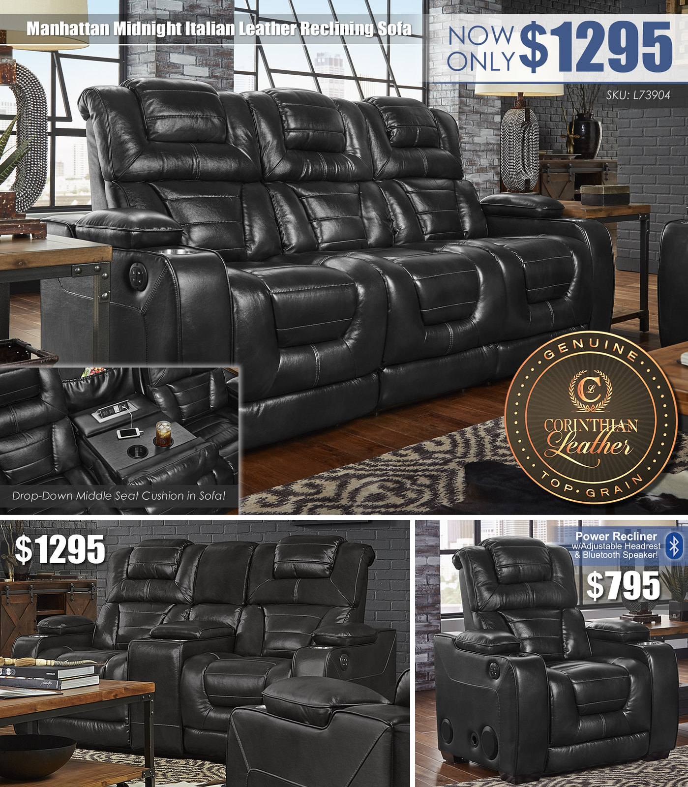 Manhattan_Midnight Reclining Sofa Layout_L73904_2019