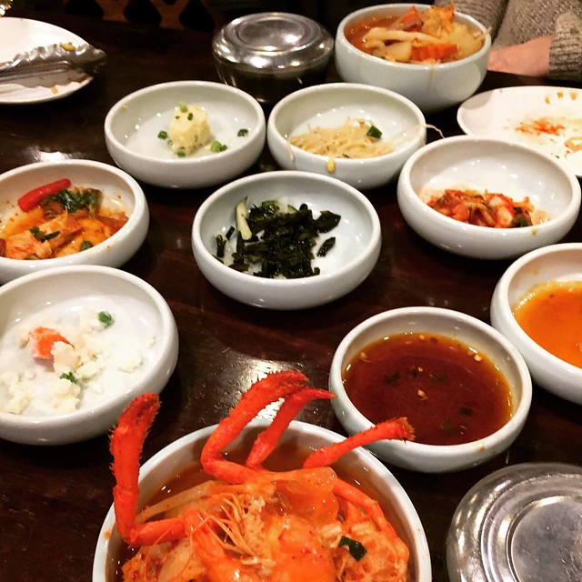 Korean banchan in Annandale