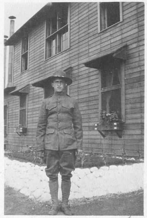 Louis Pfel, Spruce Soldier
