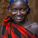 Dizzi tribe woman portrait, Omo valley, Kibish, Ethiopia by Eric Lafforgue