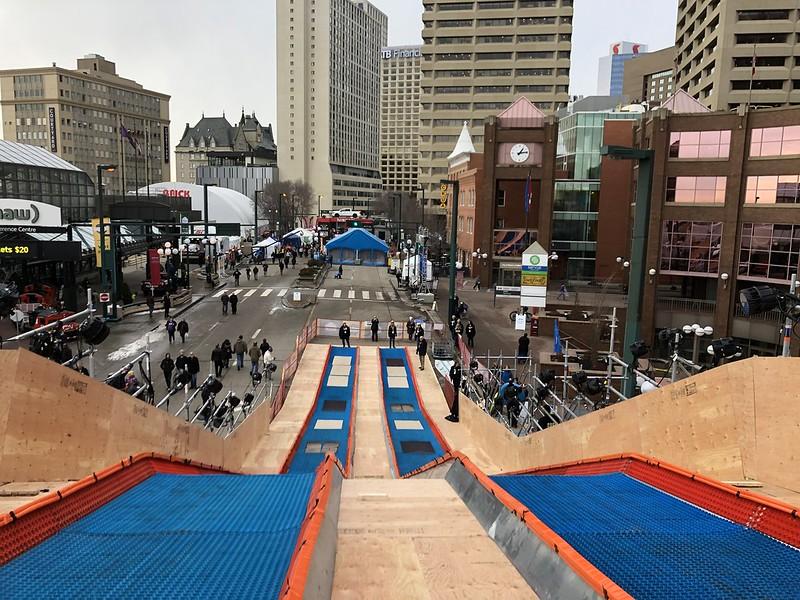 Gray cup setup Edmonton November 22 2018