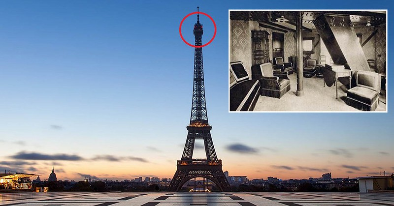 Eiffel habitación secreta