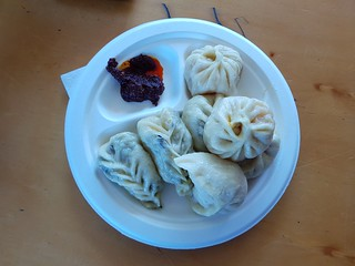 Mixed Momos from Tibetan Momo House at Brisbane Vegan Markets