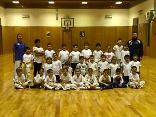 I giovani atleti del CS Karate Club