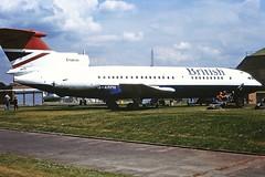 G-ARPH HS Trident 1 British Airways Cosford 1989