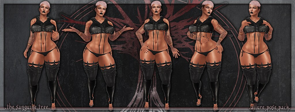 [ new release – allure pose pack ]