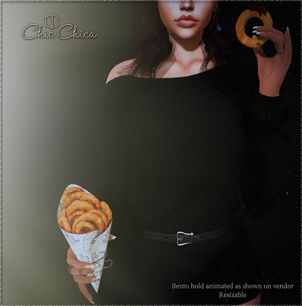 Onion rings by ChicChica @ Cosmopolitan