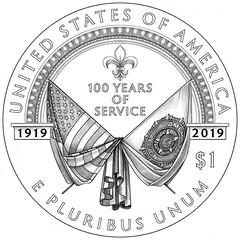 american-legion-commemorative-silver-line-art-reverse