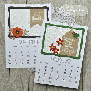 Taylored Expressions 5x7 Calendar