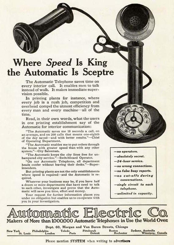 Automatic Electric 1917