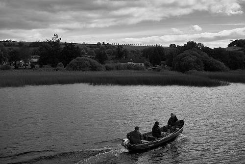 just relaxing on the River Shannon