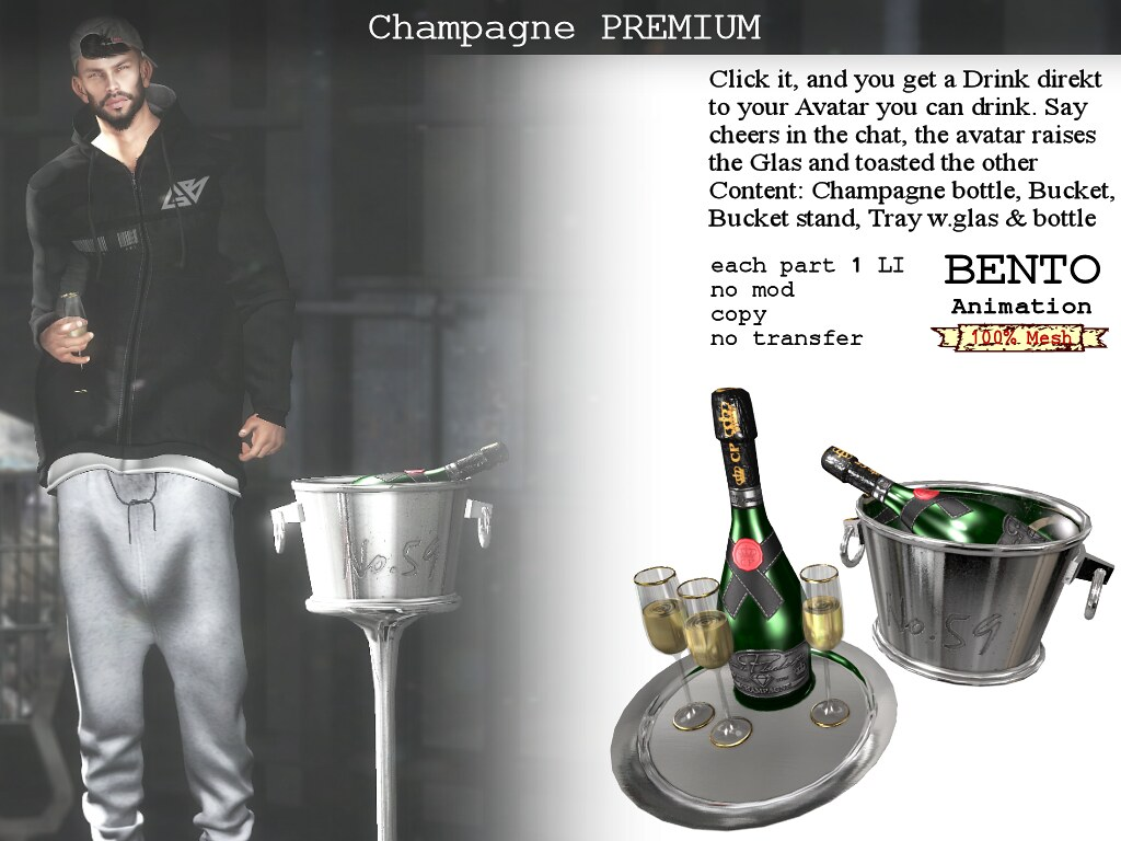 Champagne Planberger Premium - TeleportHub.com Live!