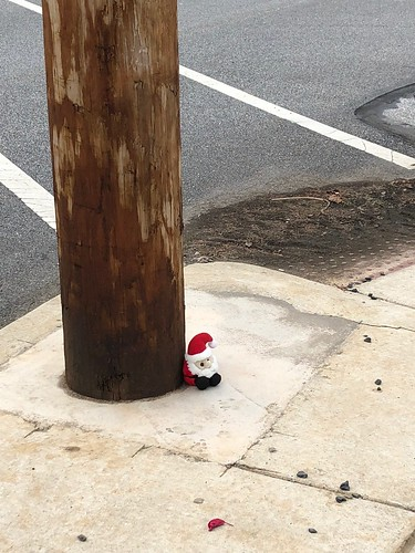 Santa lost his way, apparently