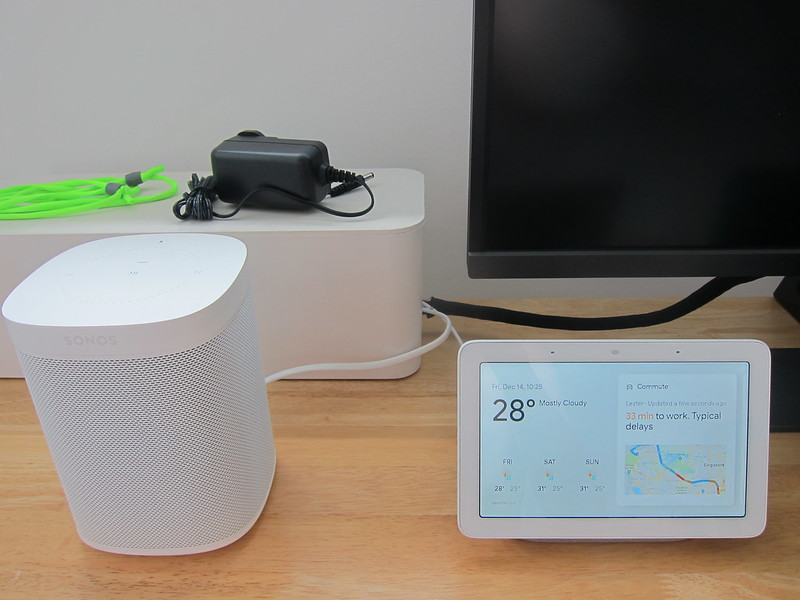 Google Home Hub - In Guest Room