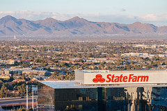State Farm regional headquarters / Marina Heights with McDowell Mountains